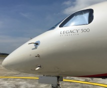 Legacy 500 nose edited